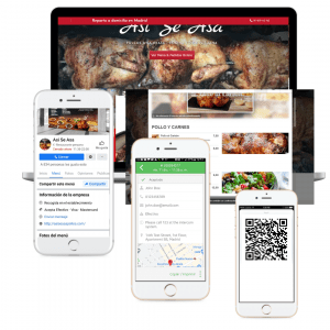 Web Restaurantes envio a domicilio